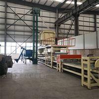 全自动机制岩棉板复合设备生产线