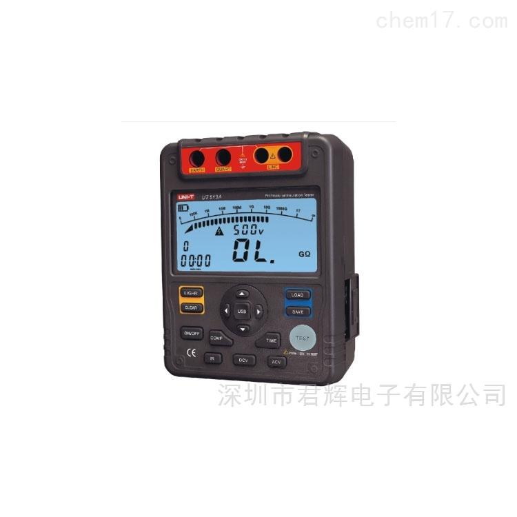 UT513A 绝缘电阻测试仪