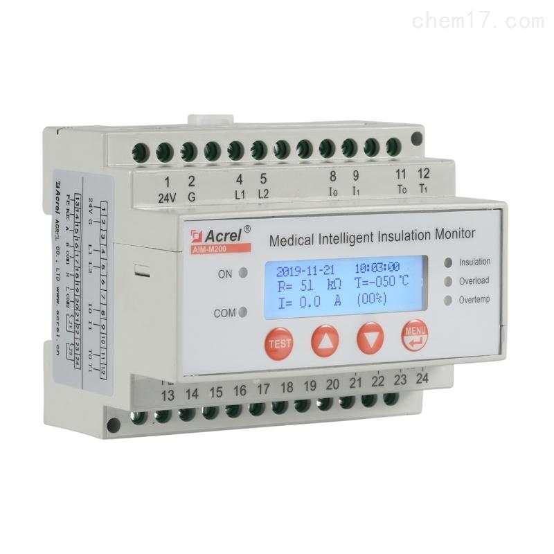 應用于醫院電氣設計中接地系統絕緣監測產品