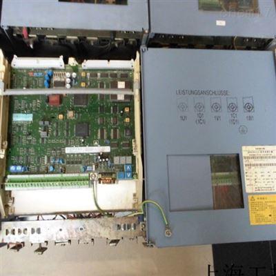 西門子6RA28控製器開機報F04當天修複成功