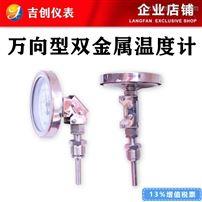 万向型双金属温度计厂家价格型号 304 316L