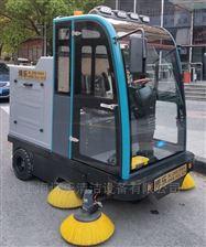 上海大型物業用電動駕駛式掃地車