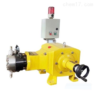 液压双隔膜式计量泵