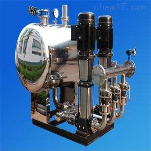 静音式叠压供水设备