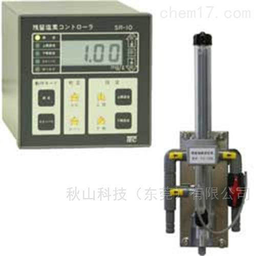 日本technoecho水质面板嵌入式余氯计