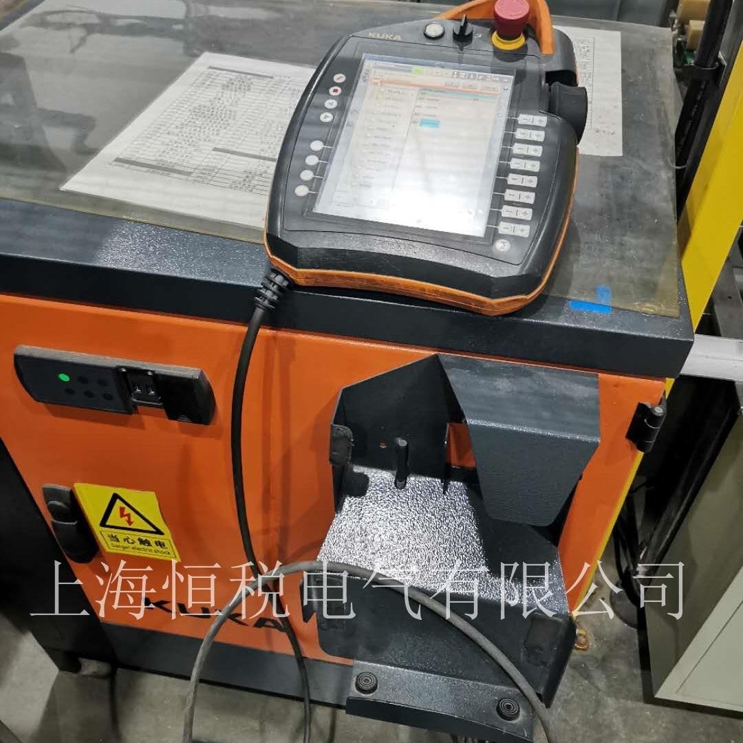 KUKA机器人示教器上电启动没反应维修技巧