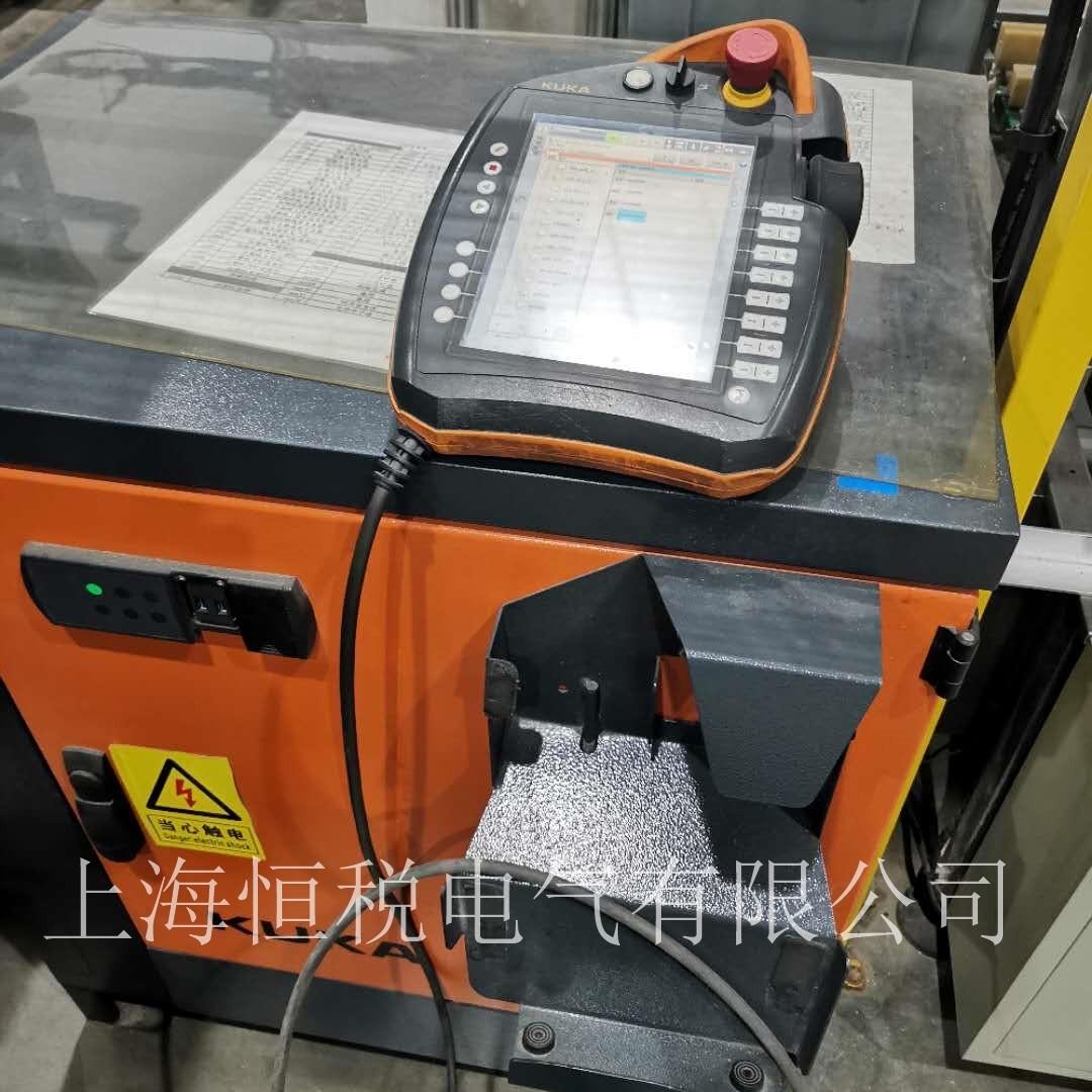 KUKA机器人示教器无法建立KRC的连接维修