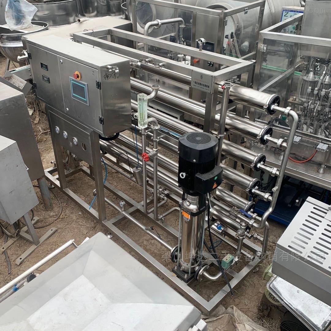 二手3吨反渗透水处理设备