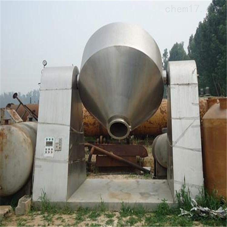 高价回收二手不锈钢或搪瓷双锥干燥机
