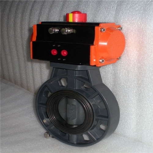 D671S气动PVC蝶阀