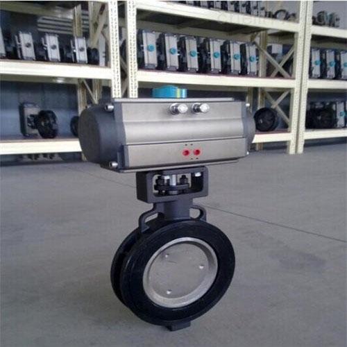 气动高性能蝶阀GD671F