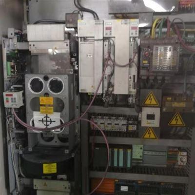 当天解决西门子6SE70变频器开不了机面板不亮