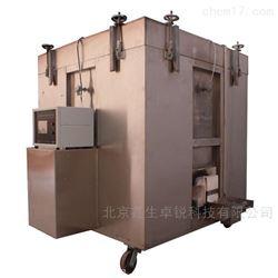 建筑构件涂料耐火试验隔热效率的测定仪器