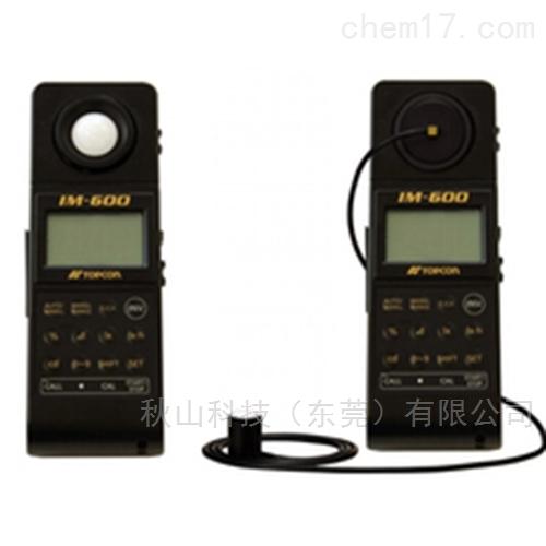 日本topcon-techno宽量程照度计IM-600M