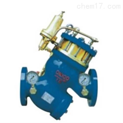 过滤活塞式可调减压阀