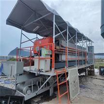 海口500型工地打桩泥浆处理固化压滤设备