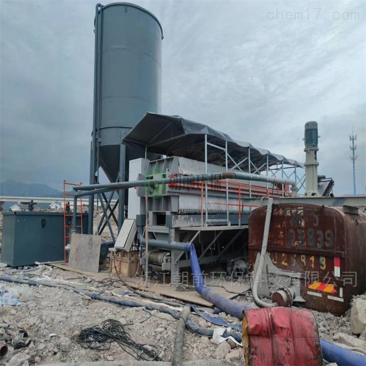 温州工程打桩废弃泥浆脱水固化处理设备