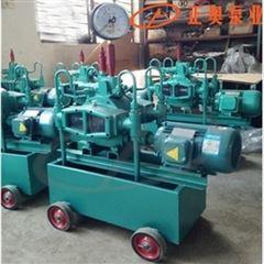 正奥泵业4DSY-100/10型铸铁电动试压水压泵