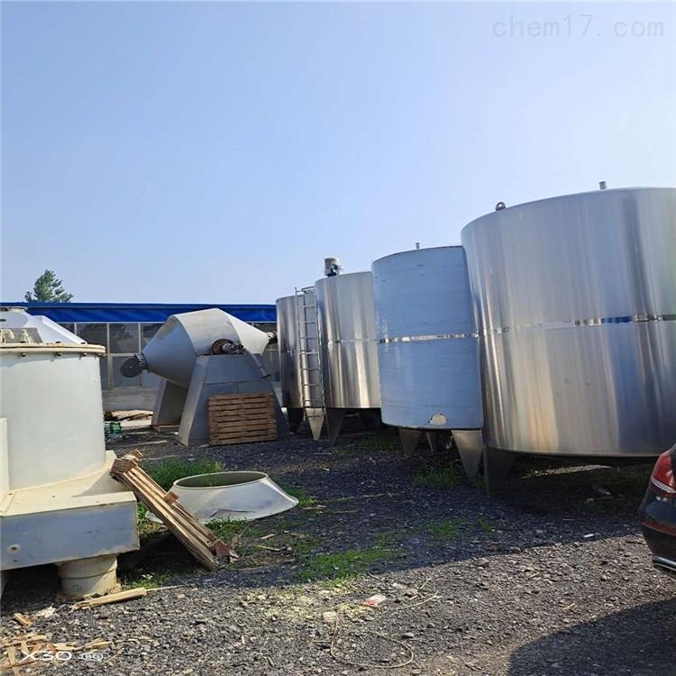 高价回收二手不锈钢储罐 废旧工厂设备