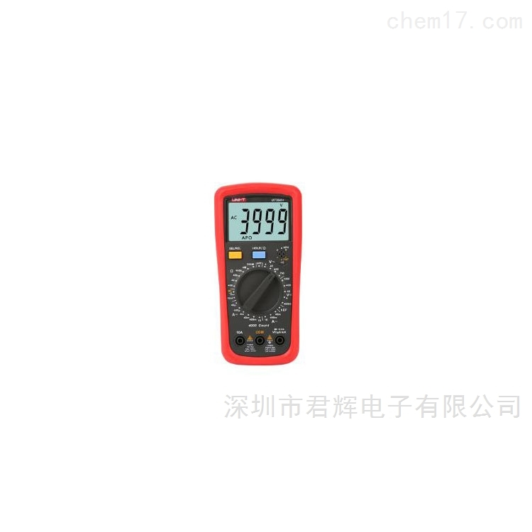 UT39+手动量程数字万用表