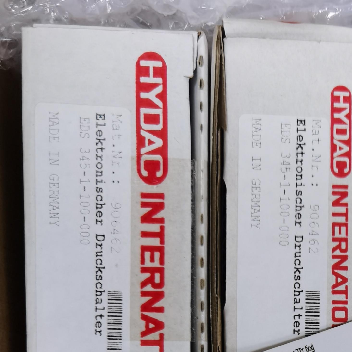 贺德克压力传感器EDS345-1-100-000常年现货