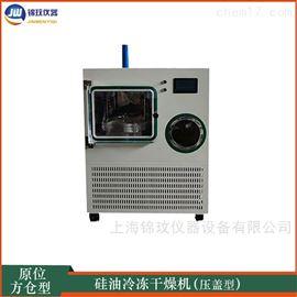 LGJ-30FG方仓型硅油冷冻干燥机压盖型 原位冻干机