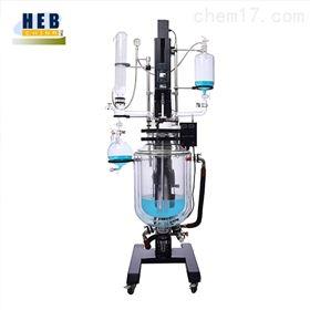 SJHEB-50L升降三层玻璃反应釜