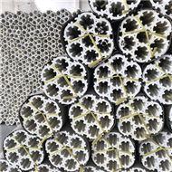 轻瓷七孔带筋环规整填料