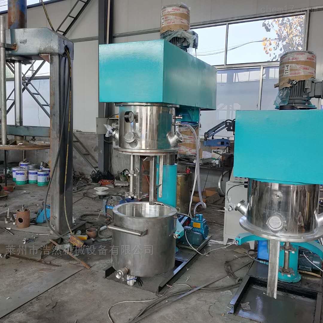 中性硅酮胶生产设备行星搅拌机