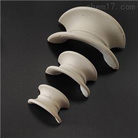 焦化干燥塔陶瓷矩鞍环也称弧形环填料