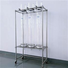 层析过滤装置 不锈钢滤网层析柱 离子交换柱