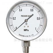 日本takashimakeiki高岛计器不锈钢压力表