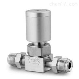 6LV-DFMR8-P-CSWAGELOK超高纯高流量气动隔膜密封阀