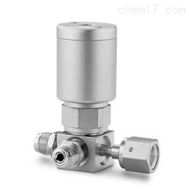 6LVV-DPC232P-C世伟洛克超高纯3孔口气动隔膜密封阀