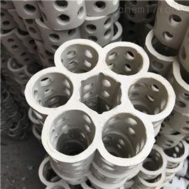 焦化脱硫塔轻瓷六菱孔环规整填料