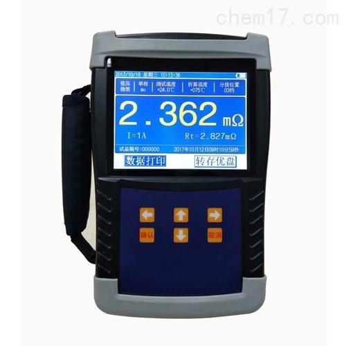高精度手持式直流电阻测试仪装置
