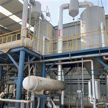 闲置不用三效强制循环蒸发装置回收