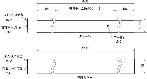 """增量式线性编码器磁性刻度""""SIS-120"""