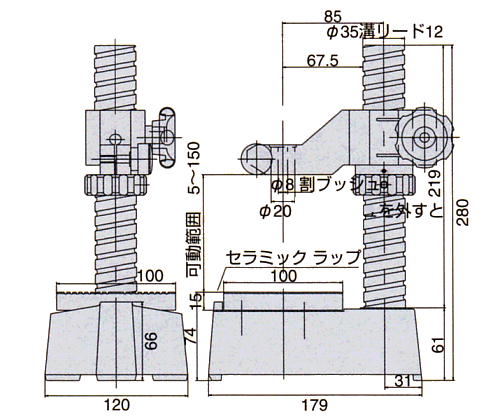PDS-2,PDS-F的外形尺寸