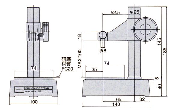 SIS-7外部尺寸