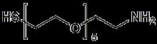 HS-PEG<sub>5</sub>-CH<sub>2</sub>CH<sub>2</sub>NH<sub>2</sub>