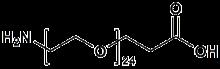 H<sub>2</sub>N-PEG<sub>24</sub>-CH<sub>2</sub>CH<sub>2</sub>COOH