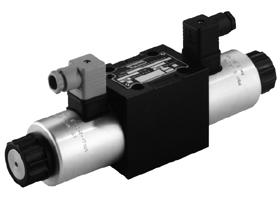 Parker派克D3DW系列5油腔电磁换向阀