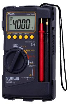 CD800A数字万用表|日本三和Sanwa数字万用表CD-800A