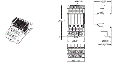 G3S4 外形尺寸 3 G3S4-A_Dim