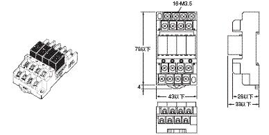 G3S4 外形尺寸 5 G3S4-A1_Dim