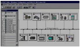 系统组态界面