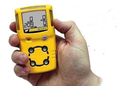 BW MicroClip X3四合一气体检测仪 电池可持续运行18小时