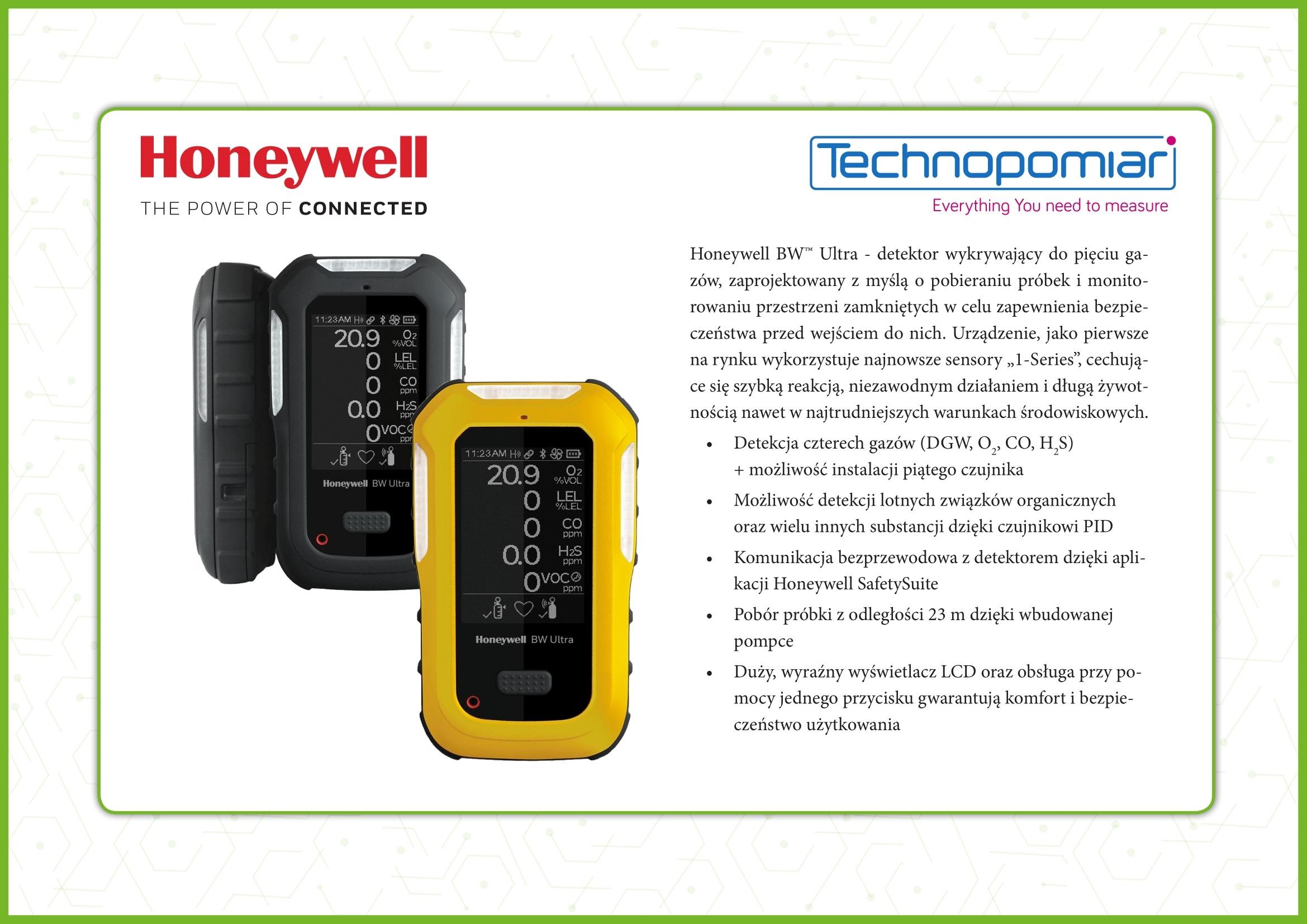 <strong><strong><strong><strong><strong>Honeywell BW Ultra 超强五合一气体检测仪</strong></strong></strong></strong></strong>