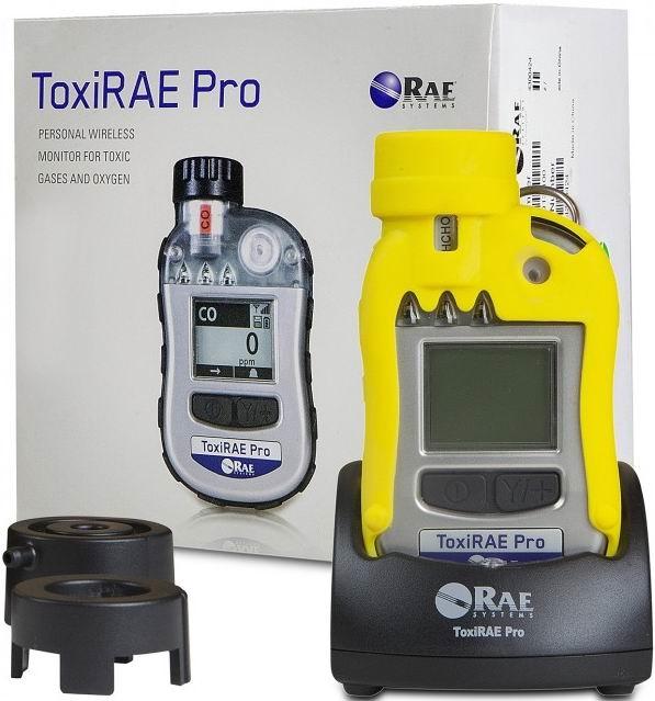 ToxiRAE Pro CO2 个人用二氧化碳气体检测仪的标配
